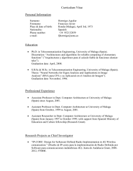 Link to an extended CV