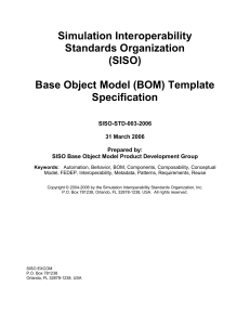 Guide for Base Object Model (BOM)