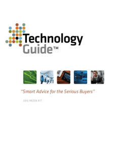 Media Kit - TechnologyGuide.com