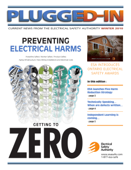 Latest update to ontario electrical safety code includes for Table 6 ontario electrical code