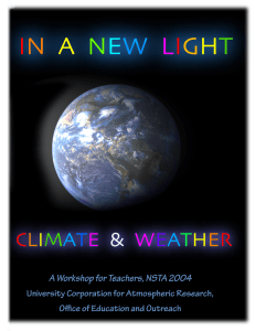 In a New Light: The Color of Weather and Climate
