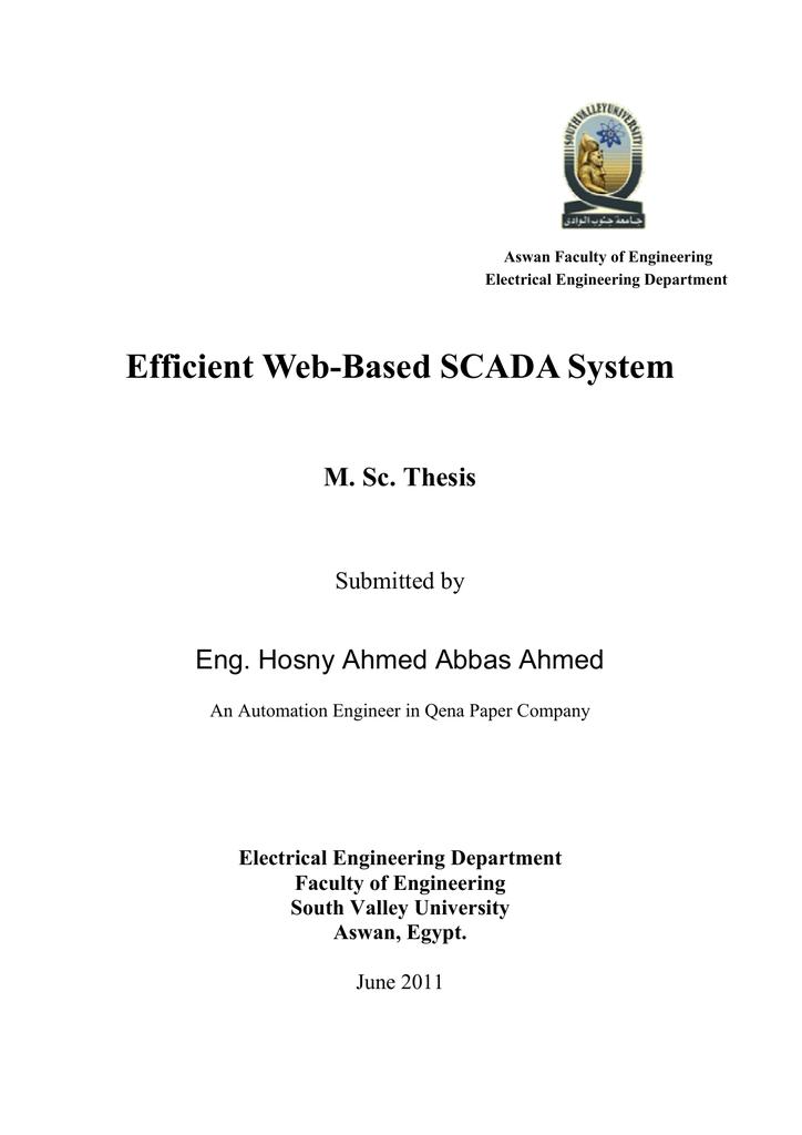 Scada phd thesis