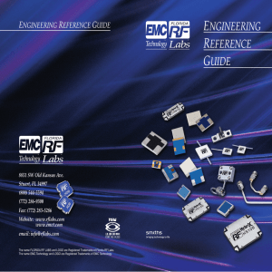 Engineering Reference Guide - EMC Technology | Florida RF Labs
