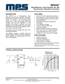 MP9447 - Monolithic Power System