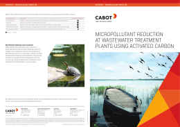 micropollutant reduction at wastewater treatment plants using