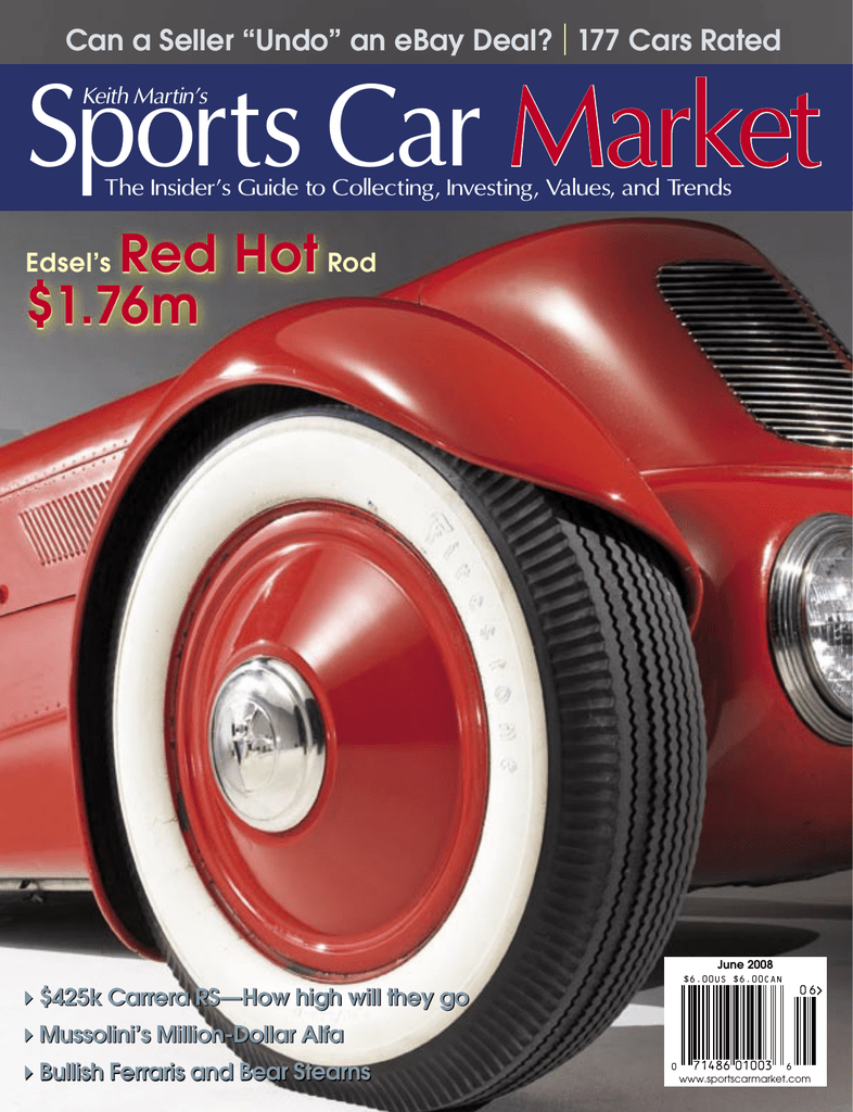June2008 Sports Car Market 1948 Pontiac Silver Streak Streamliner