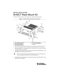 NI-MCT Rack Mount Kit Installation Guide