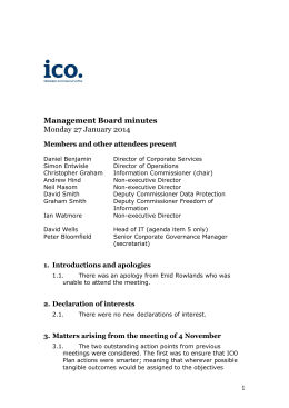 Minutes of this meeting PDF