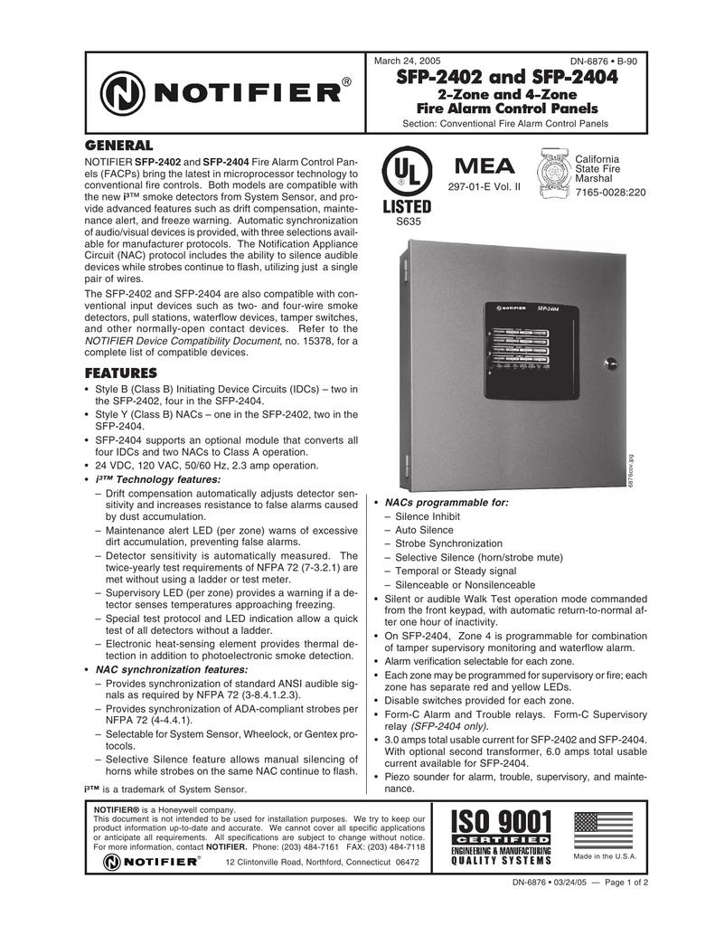 ... alarm system discontinued v e c l thai co ltd fire rh vecthai com Array  - sfp 2402 and sfp 2402 and sfp 2402 and sfp 2404 rh studylib ...