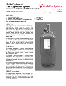 Kidde Engineered Fire Suppression System