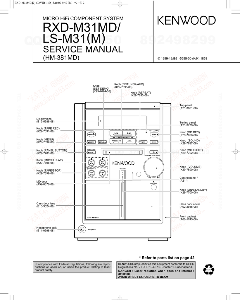 Parts List C346 Focus Fuse Box Front