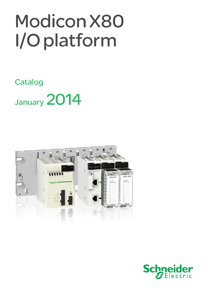Modicon X80 Io Platformrhstudylib: Modicon Quantum Wiring Diagram At Gmaili.net