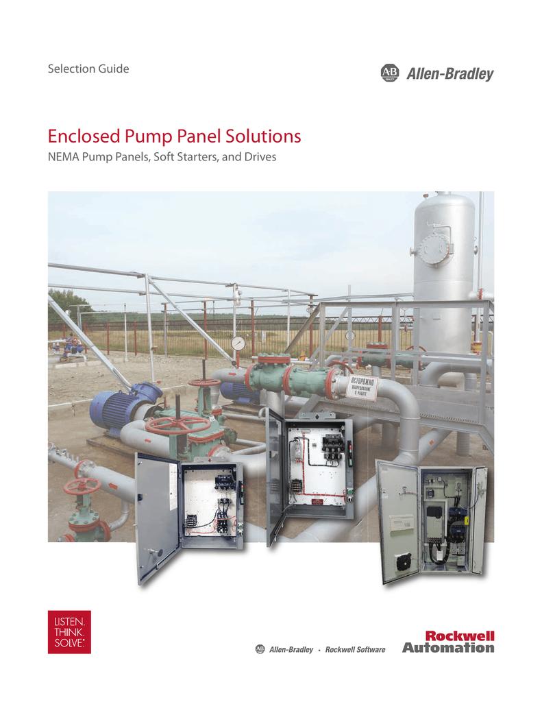 Enclosed Pump Panel Solutions