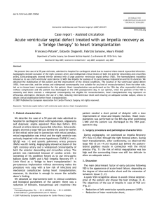 Acute ventricular septal defect treated with an Impella recovery as a