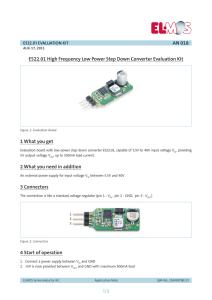 PDF 242 kB - Elmos Semiconductor AG