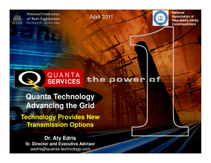 Quanta Technology Advancing the Grid