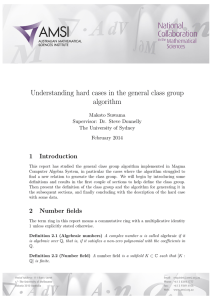 Understanding hard cases in the general class group algorithm