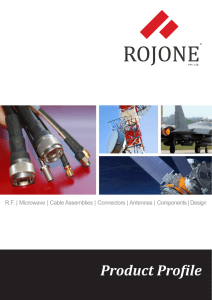 Product Profile - Rojone Pty Ltd