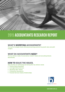 Accountants Research Report 2015