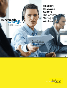 Headset Research Report