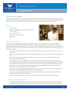 Commercial Cooking - Western National Insurance