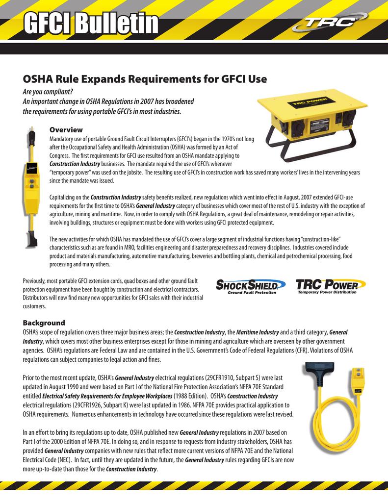 GFCI Bulletin PDF - Technology Research, LLC