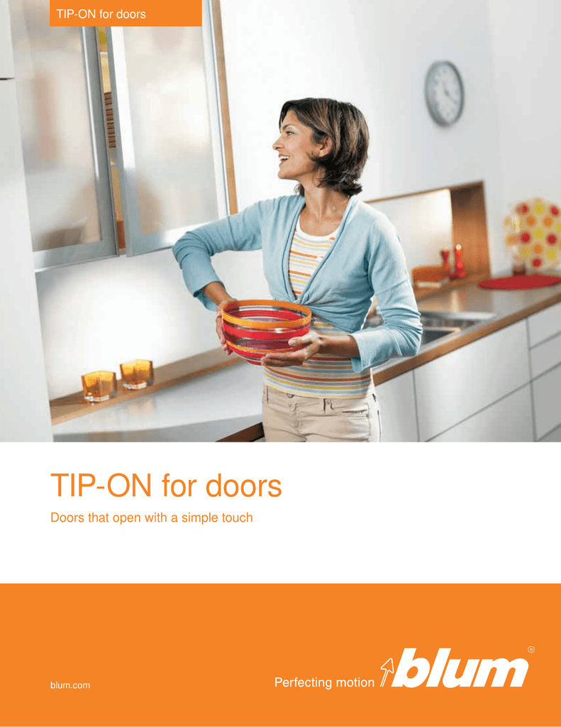TIP-ON for doors - Compi Distributors, inc