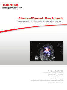 Advanced Dynamic Flow Expands - Toshiba America Medical Systems