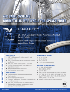 Sell Sheet - AFC Cable Systems, Inc.