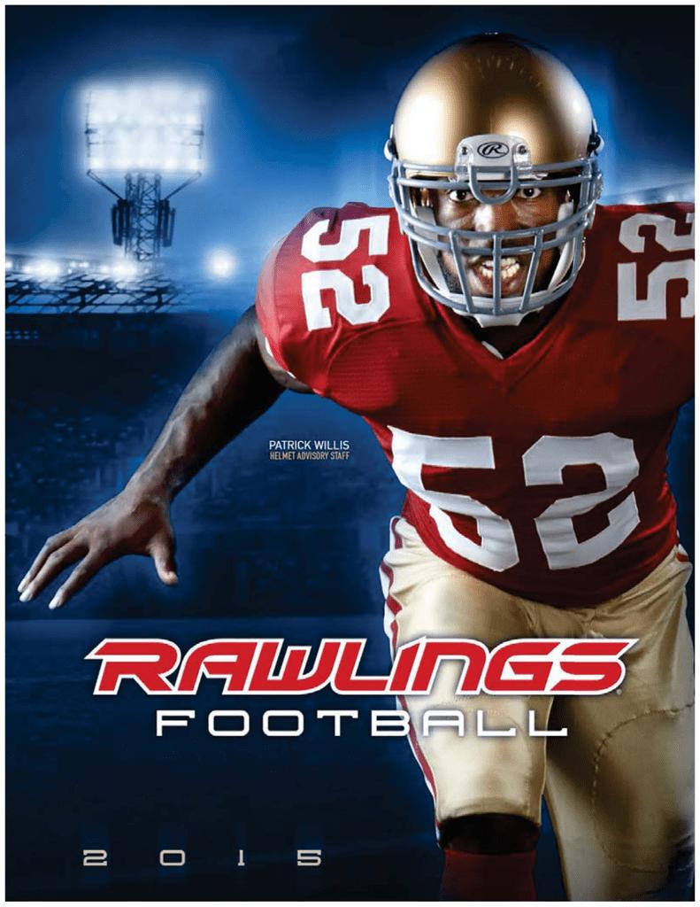 fe0ce6081 Rawlings 2015 Football Catalog