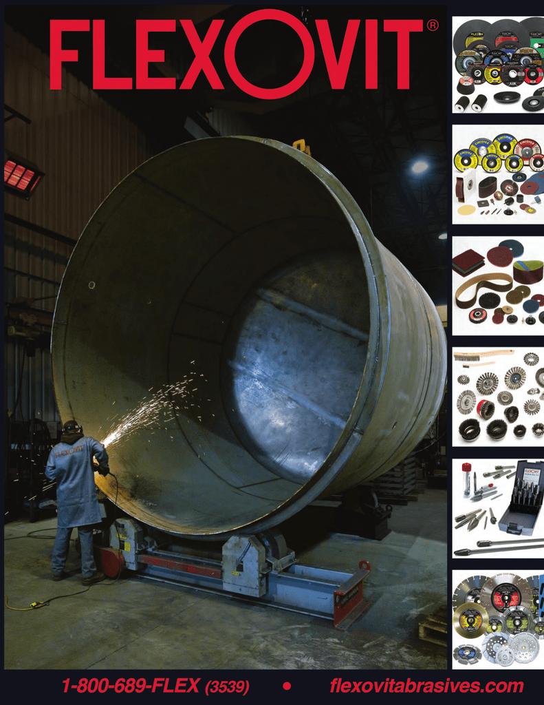 50//Each FLEXOVIT Sanding DISC HIGH Performance 3ROLON S0350R