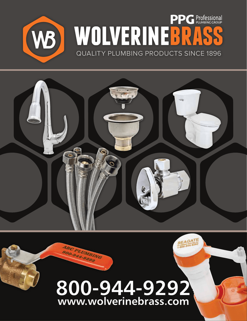 Products - Wolverine Brass