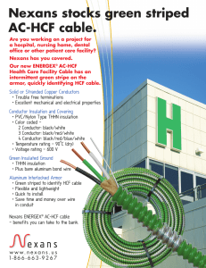 AC-HCF Cable, Brochures