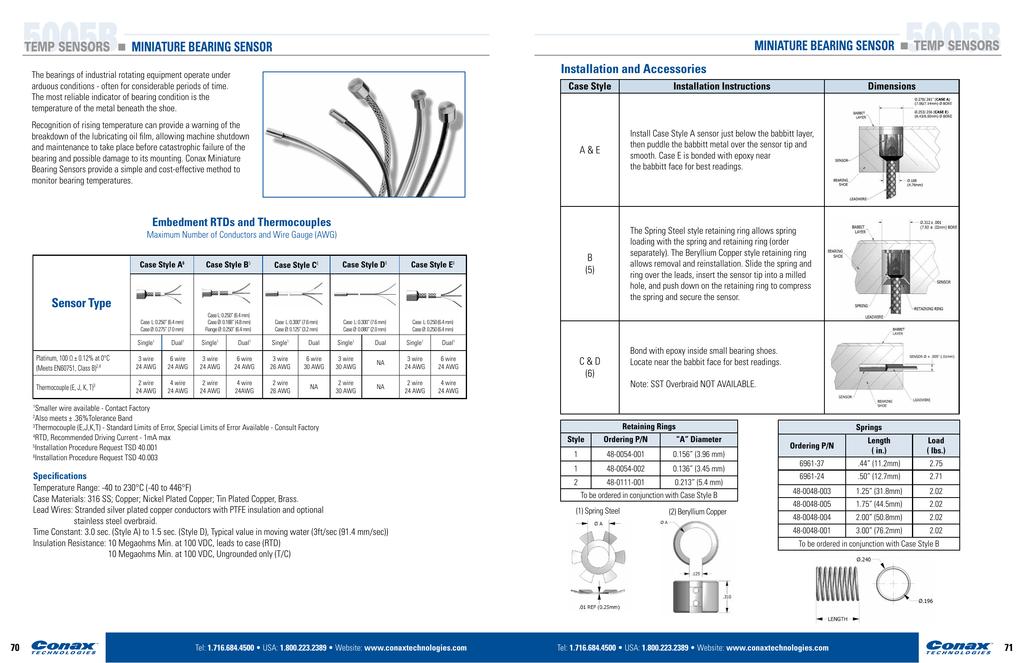 5005B 5005B - Conax Technologies