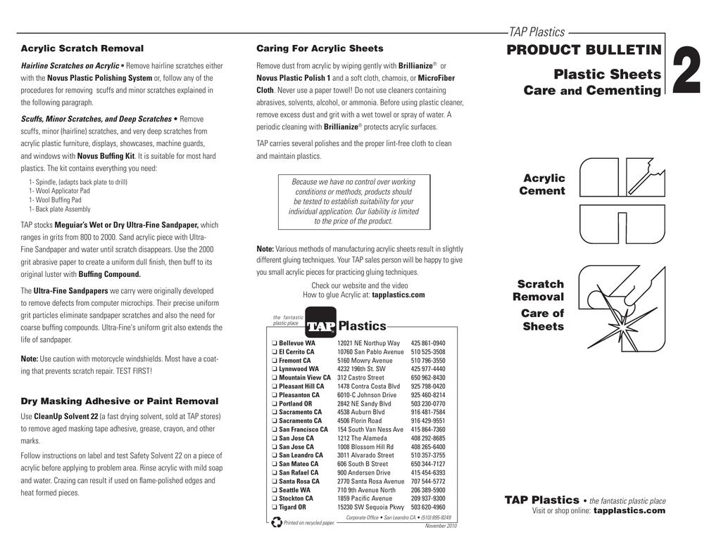 Glue acrylic plastic sheets