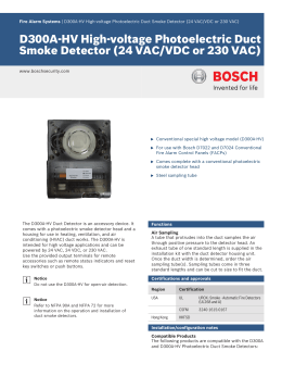 Conventional Duct Smoke Detector