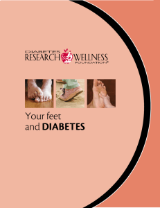 Your feet and Diabetes - Diabetes Research and Wellness Foundation