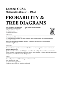 Tree Diagrams - 3 Minute Maths