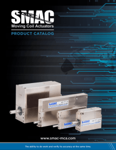 product catalog - SMAC Corporation