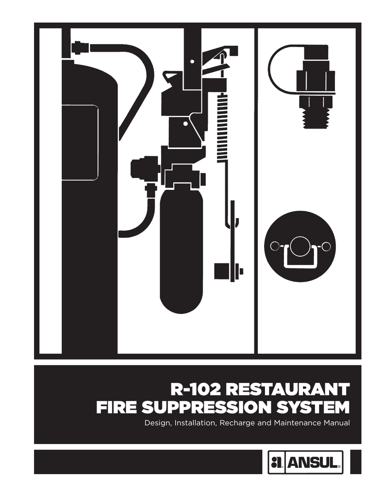 r 102 restaurant fire suppression system rh studylib net ansul r-102 wet chemical fire suppression system wiring diagram Shunt Trip Breaker Wiring Diagram