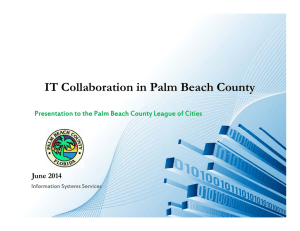 IT Collaboration in Palm Beach County