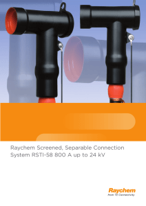 Raychem Screened, Separable Connection