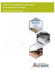 2013 Comprehensive Economic Development Strategy Executive