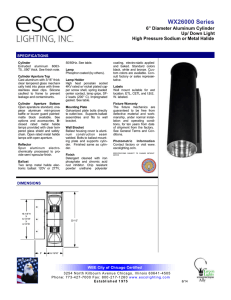 WX26000 Series - Esco Lighting Inc