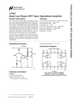 lf411 low offset low drift jfet input operational amplifier lf41 1 rh studylib net