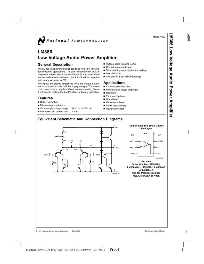 Low Voltage Audio Amplifier Address Db Current Amplifiercircuit Circuit Diagram Seekiccom 018690358 1 37e211e3ab45a039a8d84ced704cae41