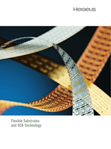 Flexible Substrates and SCB-Technology