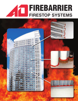 firebarrier - A/D Fire Protection Systems