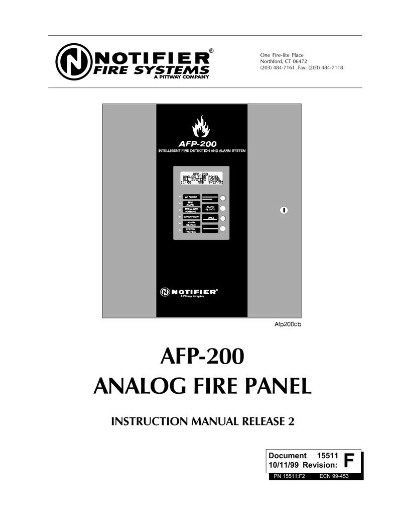 AFP-200 - notifier com au