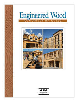 Engineered Wood Construction Guide